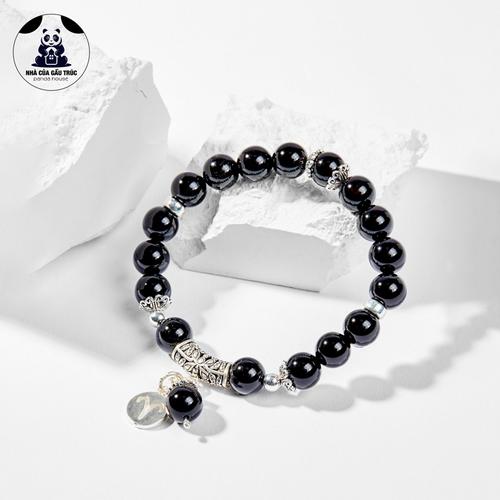 Vòng tay 12 cung hoàng đạo đá obsidian cung bạch dương 5.5cm - panda house - 13287633 , 21453670 , 15_21453670 , 920000 , Vong-tay-12-cung-hoang-dao-da-obsidian-cung-bach-duong-5.5cm-panda-house-15_21453670 , sendo.vn , Vòng tay 12 cung hoàng đạo đá obsidian cung bạch dương 5.5cm - panda house