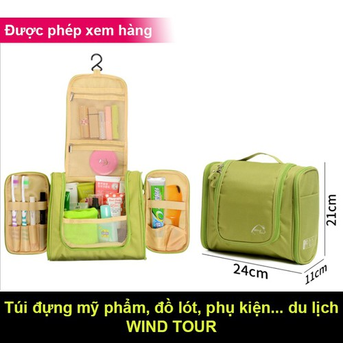 Túi đựng mỹ phẩm du lịch có móc treo - 13164713 , 21408672 , 15_21408672 , 179000 , Tui-dung-my-pham-du-lich-co-moc-treo-15_21408672 , sendo.vn , Túi đựng mỹ phẩm du lịch có móc treo