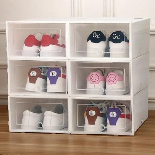 Combo 6 hộp đựng giày thông minh