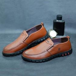 Giày da nam cao cấp đi KHÔNG ĐAU CHÂN [BẢO HÀNH 1 NĂM- ĐƯỢC KIỂM HÀNG]