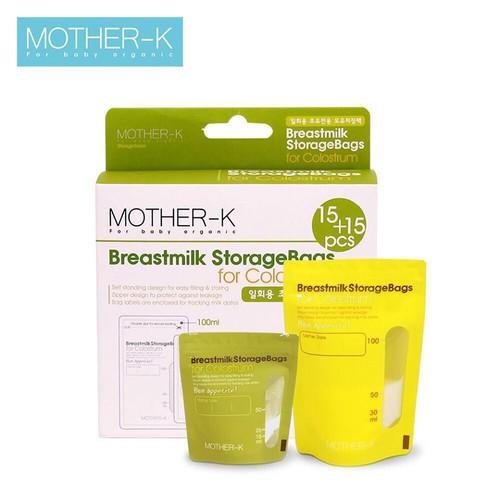 Túi trữ sữa non mother-k hàn quốc - hộp 30 chiếc