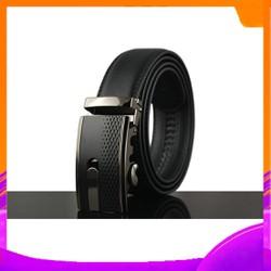 Thắt Lưng Nam da Bò- thời trang quần âu với khóa thắt lưng nam tự động-M02
