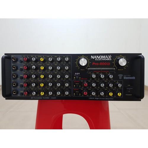 Amply karaoke nanomax pro- 800ib-có bluetooth-công suất 1300w-model 2019