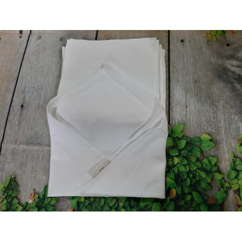 5 khăn lau ly cốc hàng không 43x43cm