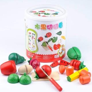 đồ chơi hoa quả cắt gỗ - 1236 thumbnail