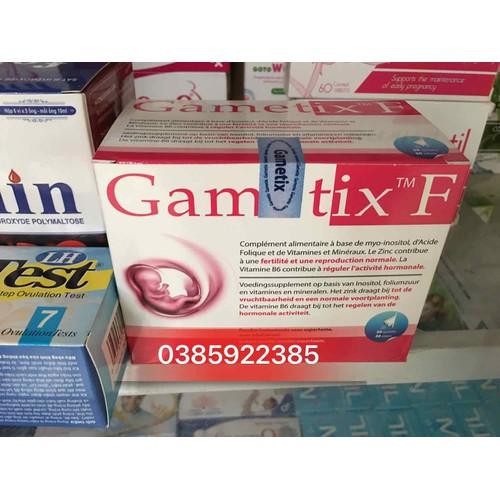 Gametix f - tặng kèm 1 lọ sắt bà bầu blackmore