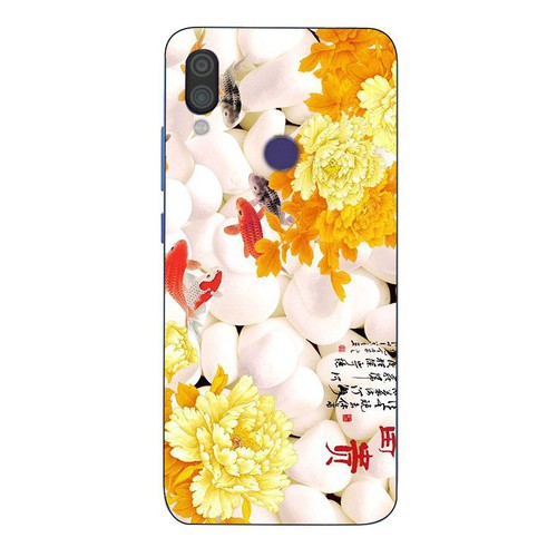 Ốp điện thoại xiaomi redmi 6 pro - mẫu đơn ms maudon010