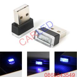 USB led nội thất xe ô tô