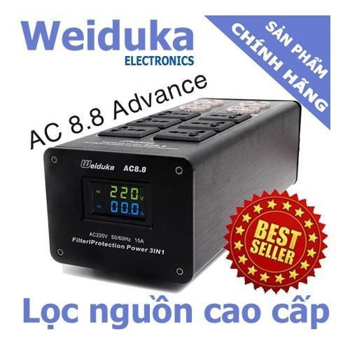 Bộ lọc nguồn điện audio weiduka ac 8.8 bản 2019, hiển thị volt và ampe - 13290232 , 21458056 , 15_21458056 , 1150000 , Bo-loc-nguon-dien-audio-weiduka-ac-8.8-ban-2019-hien-thi-volt-va-ampe-15_21458056 , sendo.vn , Bộ lọc nguồn điện audio weiduka ac 8.8 bản 2019, hiển thị volt và ampe