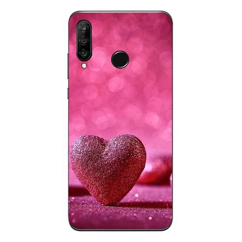 Ốp điện thoại dành cho máy huawei nova 3 - trái tim tình yêu ms love024