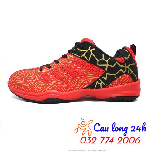 Giày cầu lông kawasaki k075 đỏ
