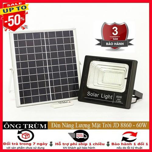 Đèn led năng lượng mặt trời công suất 60w jd8860