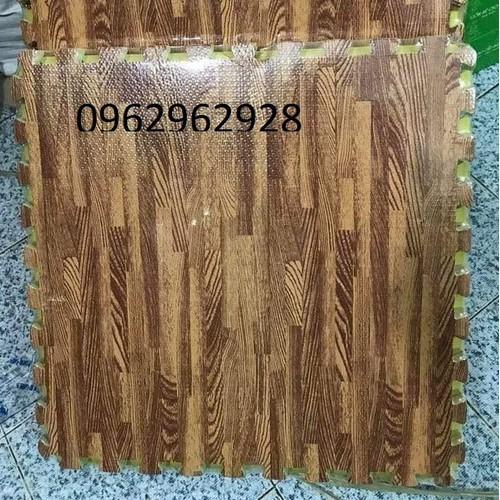 Thảm xốp vân gỗ bộ 6 tấm kích thước 60 x 60 cm