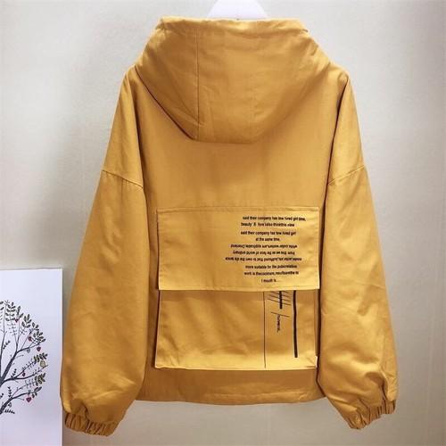 Áo khoác dễ thương vải dù cho nữ giá hot