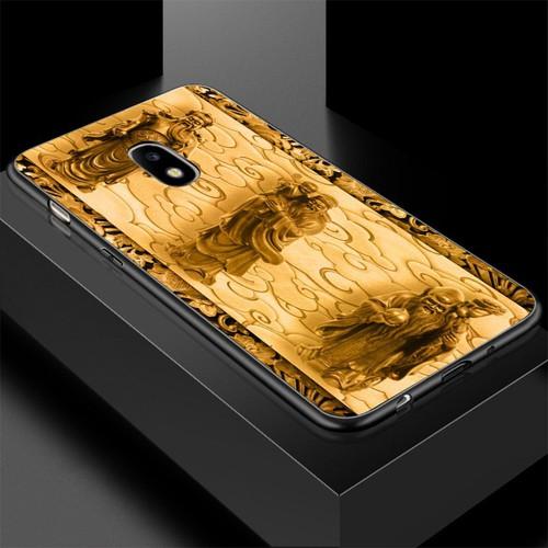 Ốp lưng cứng viền dẻo dành cho điện thoại samsung galaxy j7 - hình điêu khắc ms dkhac019