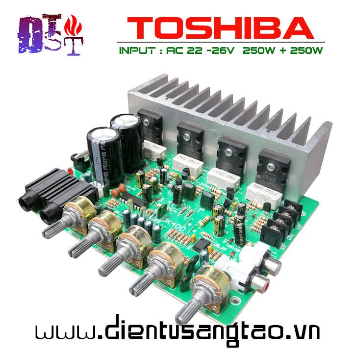 Mạch Karaoke TOSHIBA 2.0 công suất 500W