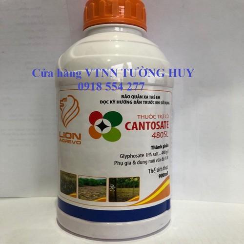 Thuốc trừ cỏ lưu dẫn glyphosate 900ml