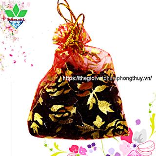 Túi Tài Lộc Thạch Anh Đen - TTL002 1