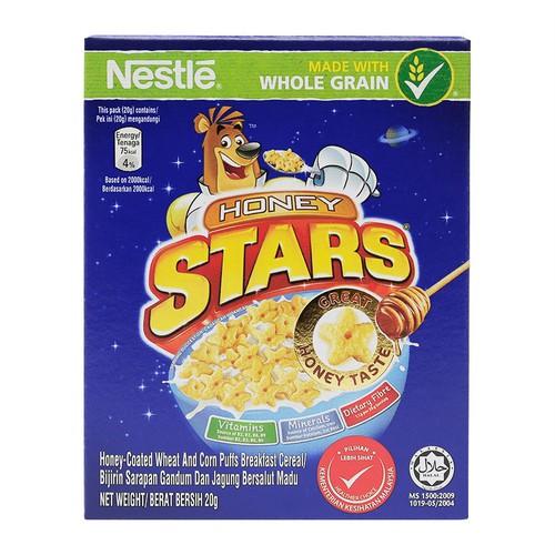 Lốc 2 hộp ngũ cốc ăn sáng nestlé honey stars 20g