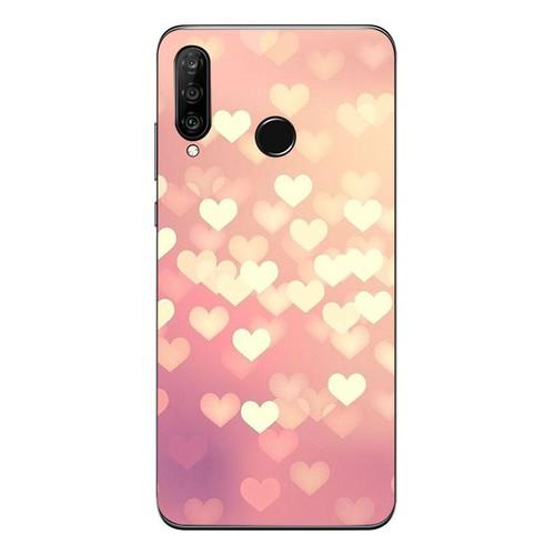 Ốp lưng điện thoại huawei honor play - trái tim tình yêu ms love023