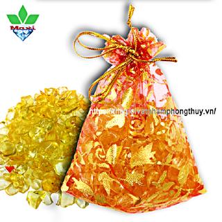 Túi Tài Lộc Thạch Anh Vàng - TTL005 1