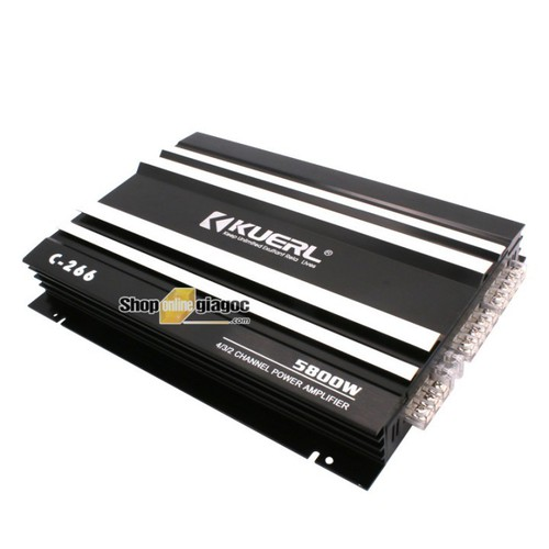 Bộ khuếch đại âm thanh ô tô 5800w c266