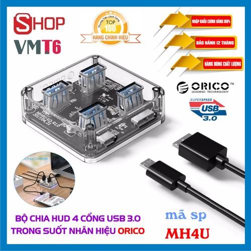 [Trong suốt] hub - bộ chia 4 cổng usb 3.0  orico mh4u - chính hãng bảo hành 12 tháng! - 13321462 , 21498173 , 15_21498173 , 250000 , Trong-suot-hub-bo-chia-4-cong-usb-3.0-orico-mh4u-chinh-hang-bao-hanh-12-thang-15_21498173 , sendo.vn , [Trong suốt] hub - bộ chia 4 cổng usb 3.0  orico mh4u - chính hãng bảo hành 12 tháng!