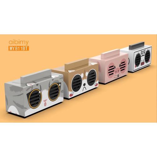 Loa bluetooth không dây âm thanh cực hay thiết kế ngộ nghĩnh dễ thương hỗ trợ nghe nhạc bằng thẻ nhớ usb dây aux - 13331445 , 21510734 , 15_21510734 , 249000 , Loa-bluetooth-khong-day-am-thanh-cuc-hay-thiet-ke-ngo-nghinh-de-thuong-ho-tro-nghe-nhac-bang-the-nho-usb-day-aux-15_21510734 , sendo.vn , Loa bluetooth không dây âm thanh cực hay thiết kế ngộ nghĩnh dễ thư