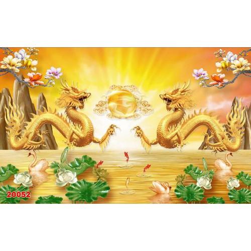 Tranh dán tường rồng vàng - 12909502 , 21496186 , 15_21496186 , 159000 , Tranh-dan-tuong-rong-vang-15_21496186 , sendo.vn , Tranh dán tường rồng vàng