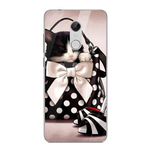 Ốp kính cường lực cho điện thoại xiaomi redmi note 4 - 4x - dễ thương muốn xỉu ms cute065