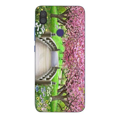 Ốp lưng điện thoại xiaomi mi 8 se - vườn hoa ms vhoa062