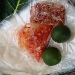 1 bịch Bánh tráng phơi Sương ớt tắc muối tôm siêu Cay