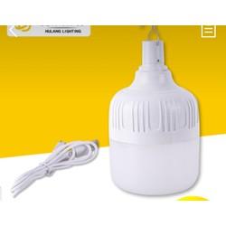 Bóng đèn tích  điện led 80W đèn sạc chiếu sáng khẩn cấp