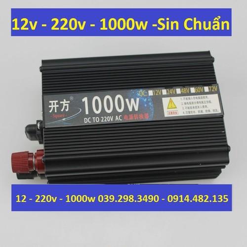 Bộ kích điện 12v thành 220v 1000w - 1000w