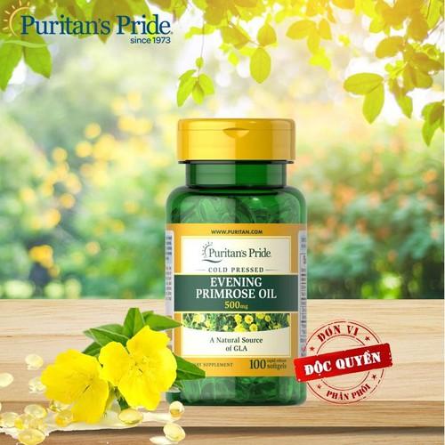 Tinh dầu hoa anh thảo puritan pride evening primrose oil 500mg - 13337811 , 21518962 , 15_21518962 , 509000 , Tinh-dau-hoa-anh-thao-puritan-pride-evening-primrose-oil-500mg-15_21518962 , sendo.vn , Tinh dầu hoa anh thảo puritan pride evening primrose oil 500mg