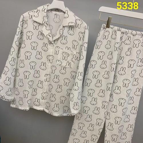 Bộ pyjama quần dài tay dài thô tre  gấu 5338 - 13337637 , 21518771 , 15_21518771 , 450000 , Bo-pyjama-quan-dai-tay-dai-tho-tre-gau-5338-15_21518771 , sendo.vn , Bộ pyjama quần dài tay dài thô tre  gấu 5338