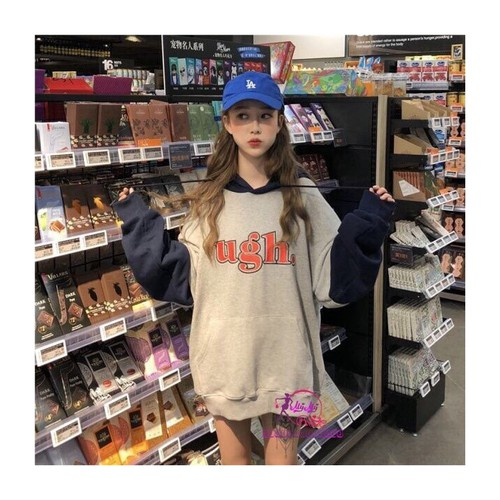 Áo khoác hoodie nữ  phong cách hàn quốc