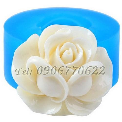 Khuôn silicon hoa hồng búp – mã số 234