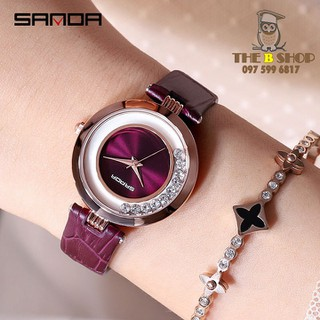 đồng hồ nữ dây da - đồng hồ nữ dây da S101 thumbnail