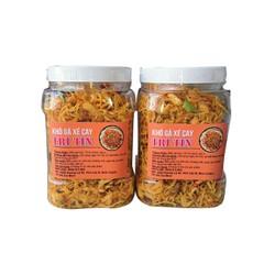 1kg khô gà lá chanh - loại 1bao  ngon