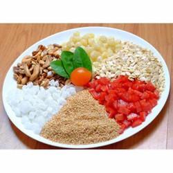 Combo hown 2kg nguyên liệu làm bánh trung thu và thêm 1kg bột