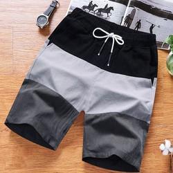 Quần đùi đũi phối màu nam - quần đũi siêu đẹp - quần cộc nam - quần shorts đũi SQ502G