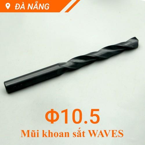 Mũi khoan sắt 10.5mm waves