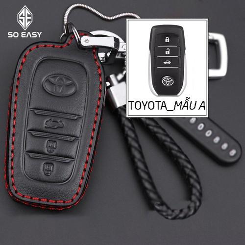 Bao da, móc treo chìa khóa ô tô, xe hơi, ốp lưng chống trầy remote điều khiển với kim loại da cao cấp đa dụng cho dòng xe toyota_ c084-rmtoyota - 13338155 , 21519324 , 15_21519324 , 99000 , Bao-da-moc-treo-chia-khoa-o-to-xe-hoi-op-lung-chong-tray-remote-dieu-khien-voi-kim-loai-da-cao-cap-da-dung-cho-dong-xe-toyota_-c084-rmtoyota-15_21519324 , sendo.vn , Bao da, móc treo chìa khóa ô tô, xe hơi,