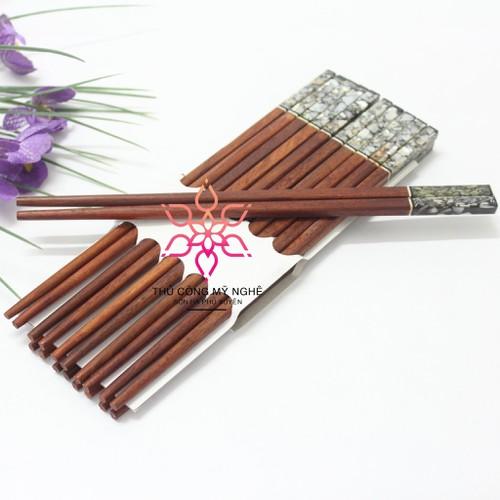 Combo 20 đôi  đũa gỗ khảm trai  hàng việt nam cao cấp - 13328494 , 21506716 , 15_21506716 , 99000 , Combo-20-doi-dua-go-kham-trai-hang-viet-nam-cao-cap-15_21506716 , sendo.vn , Combo 20 đôi  đũa gỗ khảm trai  hàng việt nam cao cấp