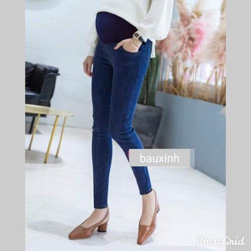 Quần jeans bầu dạo phố - 13347411 , 21550950 , 15_21550950 , 180000 , Quan-jeans-bau-dao-pho-15_21550950 , sendo.vn , Quần jeans bầu dạo phố