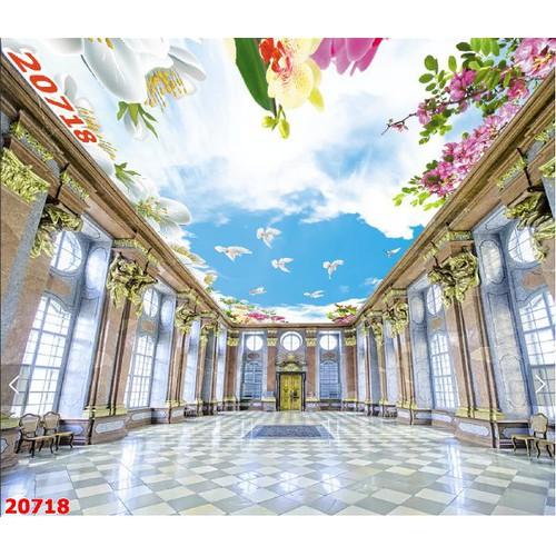 Tranh dán tường trần nhà 3d - 19144415 , 21543472 , 15_21543472 , 159000 , Tranh-dan-tuong-tran-nha-3d-15_21543472 , sendo.vn , Tranh dán tường trần nhà 3d