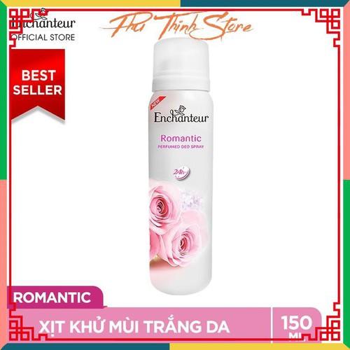 Xịt khử mùi nước hoa enchanteur romantic lãng mạn nhẹ nhàng ngăn mồ hôi mùi cơ thể 150ml - 13414916 , 21633019 , 15_21633019 , 75000 , Xit-khu-mui-nuoc-hoa-enchanteur-romantic-lang-man-nhe-nhang-ngan-mo-hoi-mui-co-the-150ml-15_21633019 , sendo.vn , Xịt khử mùi nước hoa enchanteur romantic lãng mạn nhẹ nhàng ngăn mồ hôi mùi cơ thể 150ml