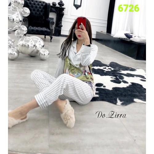 Bộ pyjama lụa quần dài tay dài cây dừa 6726 - 13349837 , 21554258 , 15_21554258 , 750000 , Bo-pyjama-lua-quan-dai-tay-dai-cay-dua-6726-15_21554258 , sendo.vn , Bộ pyjama lụa quần dài tay dài cây dừa 6726