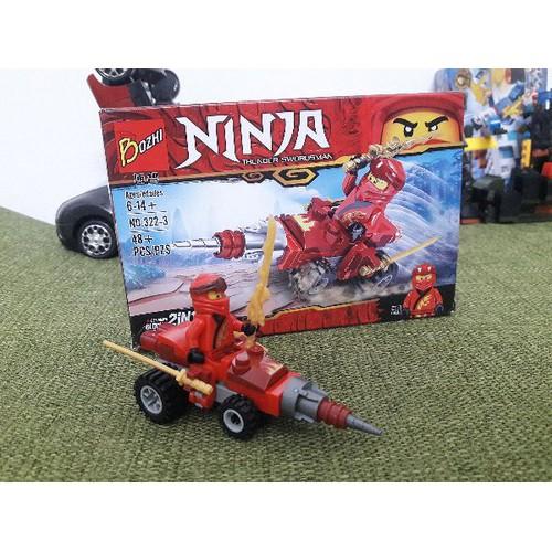 Lắp ráp - ghép hình ninja cho bé
